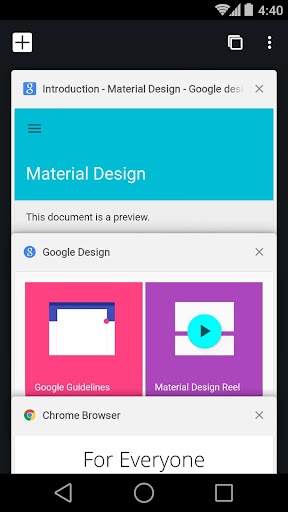 Screenshot for Chrome Beta in United States Play Store