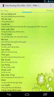 Thơ Hàn Mặc Tử - screenshot thumbnail
