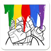 Coloring Page Lego