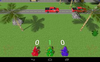 Screenshot of Frog Race 3D