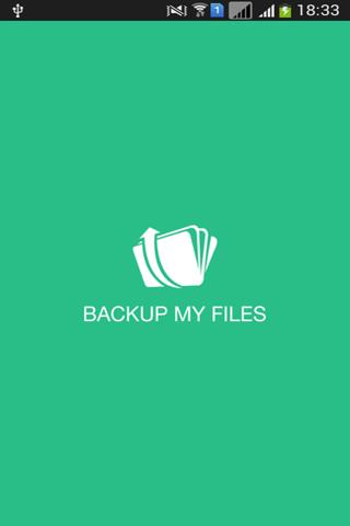 BackUp My Files
