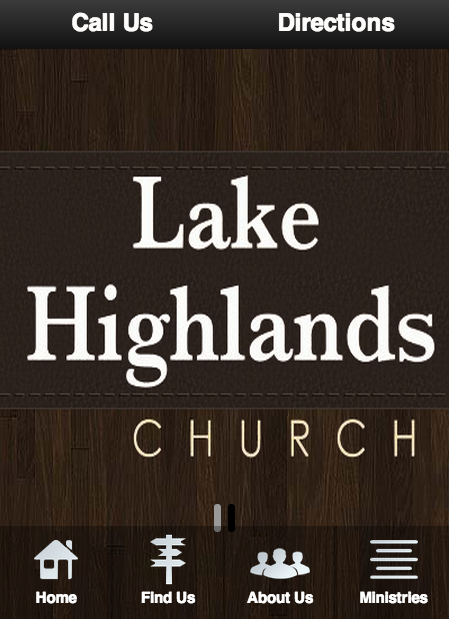 Lake Highlands Church - screenshot