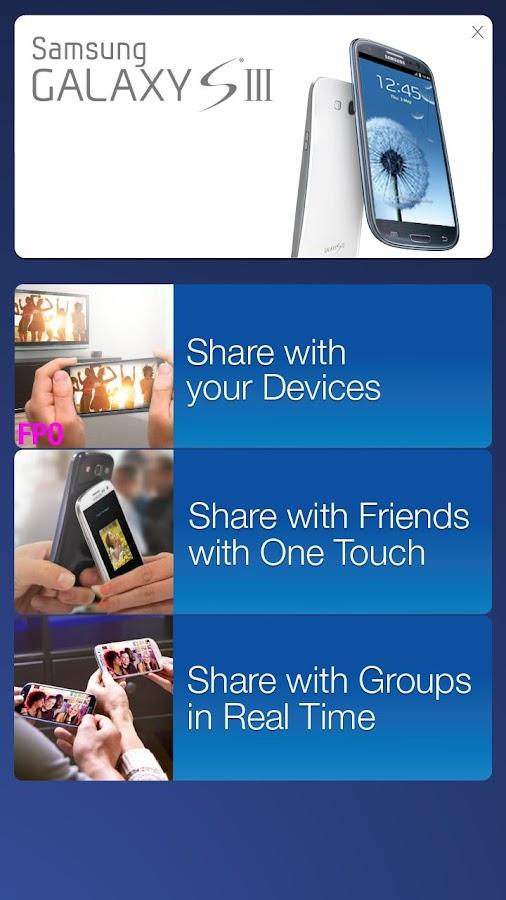 Galaxy SIII Retail Mode- screenshot