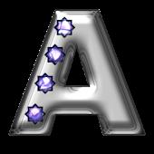 Bling-bling A-monogram