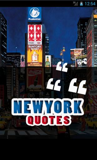 New York Quotes