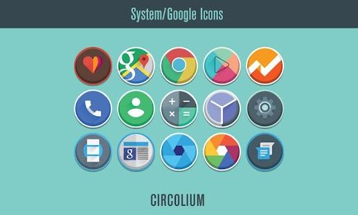Circolium Icon Pack - screenshot thumbnail