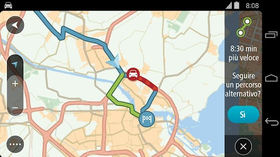 TomTom GPS Navigation Traffic Screenshot 22