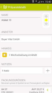 Arznei aktuell Screenshot
