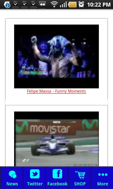 Felipe Massa 2012 - screenshot