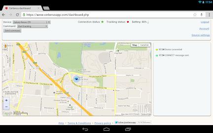 Cerberus anti theft Screenshot 6