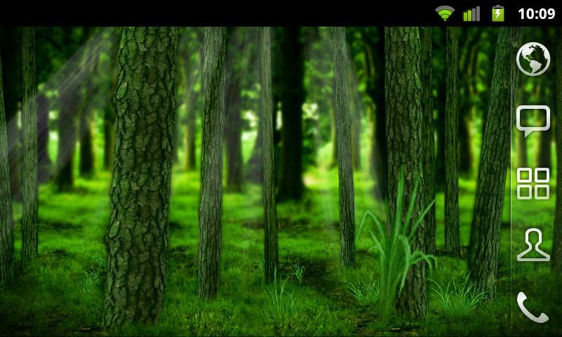 RealDepth Forest Free LWP - screenshot