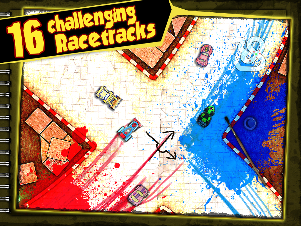 Paper Racer - screenshot
