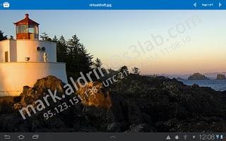 Screenshot of SealPath Document Viewer