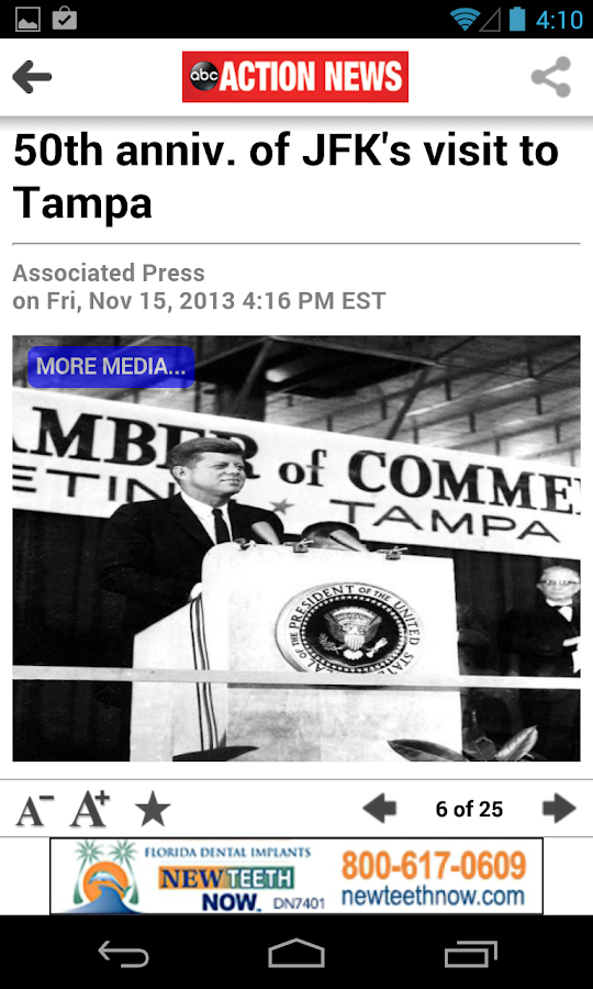 ABC Action News Tampa Bay - screenshot
