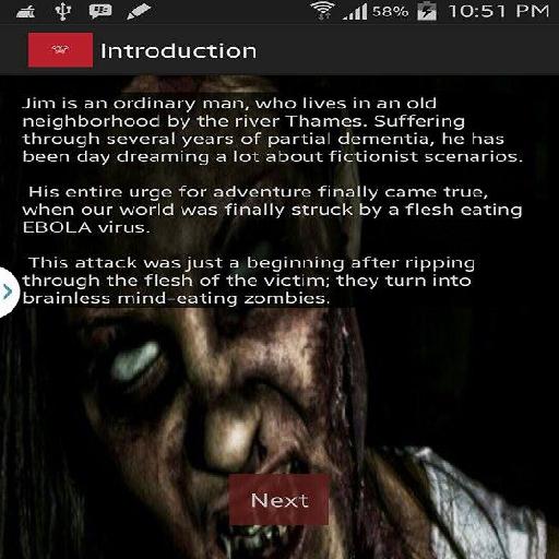 Zombie Apocalypse-A Word Story