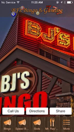 BJ's Bingo Gaming
