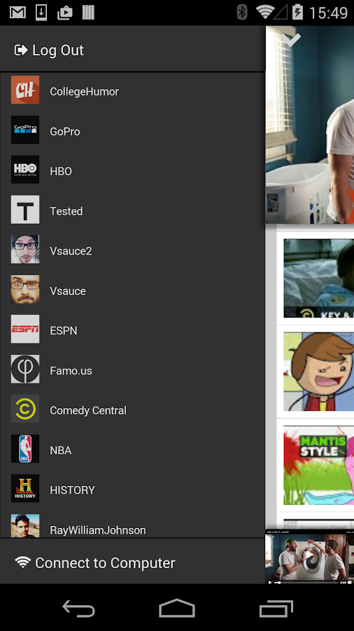 Tube hdtv wall android apps on google play for Picture on wall app
