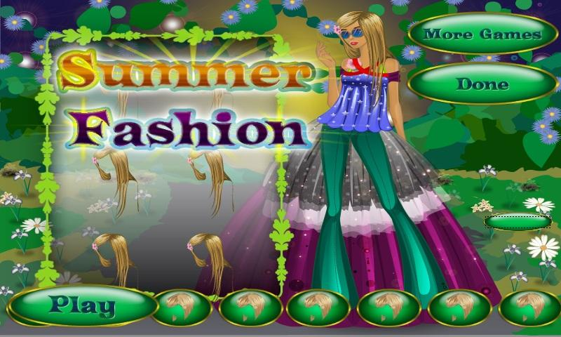 Summer Fashion - screenshot