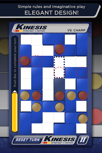 Kinesis: Strategy in Motion