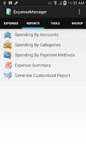 ExpenseManager- screenshot thumbnail
