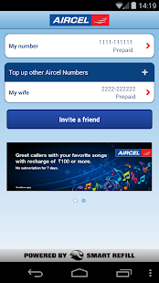 Aircel Pocket Payment- screenshot thumbnail