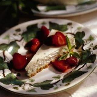 Lemon Verbena Cheesecake.