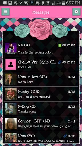 玩個人化App|GO SMS THEME - SCS377免費|APP試玩