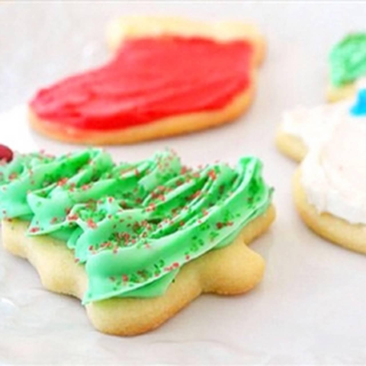 Soft Cut-Out Sugar Cookies