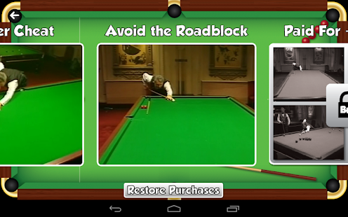 John Virgo Snooker Trick Shots- screenshot thumbnail