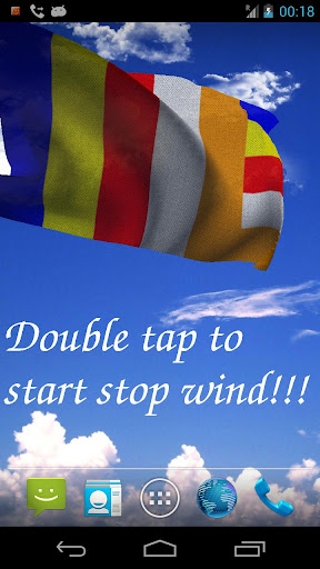 Buddhism Flag LWP Free