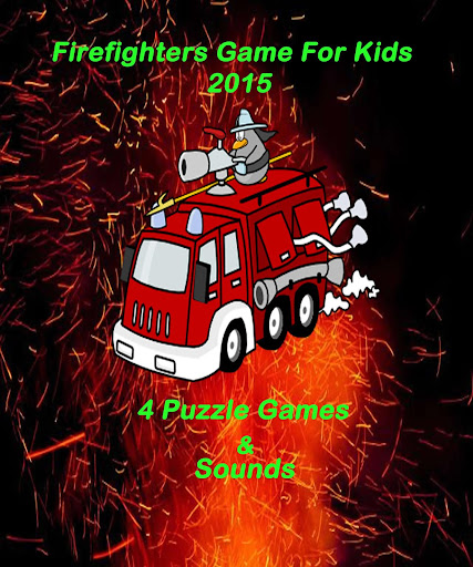 Firefighters Game For Kids NEW