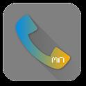 Phone Skin-Black glossy icon