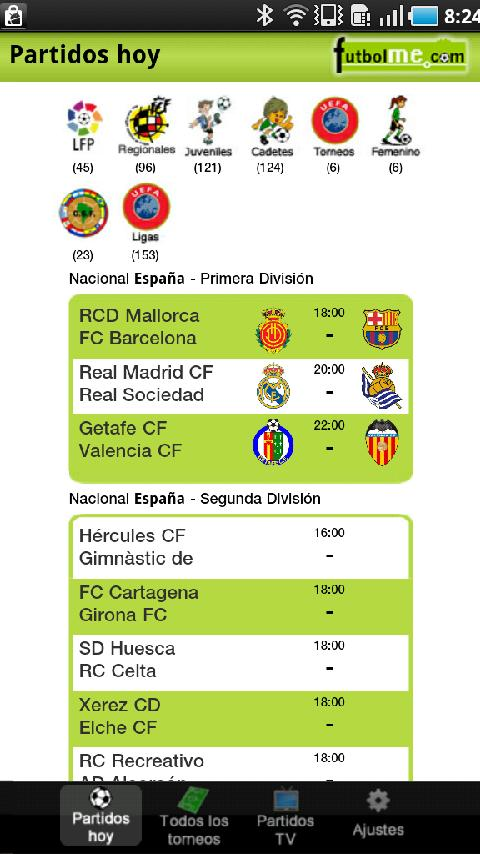 Futbolme Oficial - screenshot