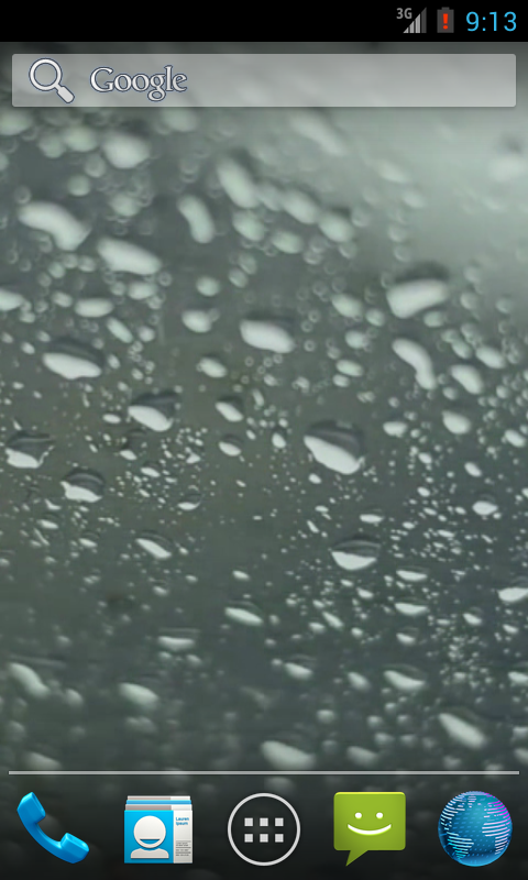 Rain Live Wallpaper - screenshot