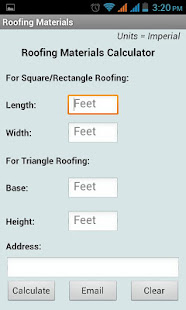 Roofing Materials Calculator Apps On Google Play