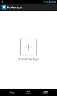 Hide App-Hide Application Icon, No Root Required Screenshot