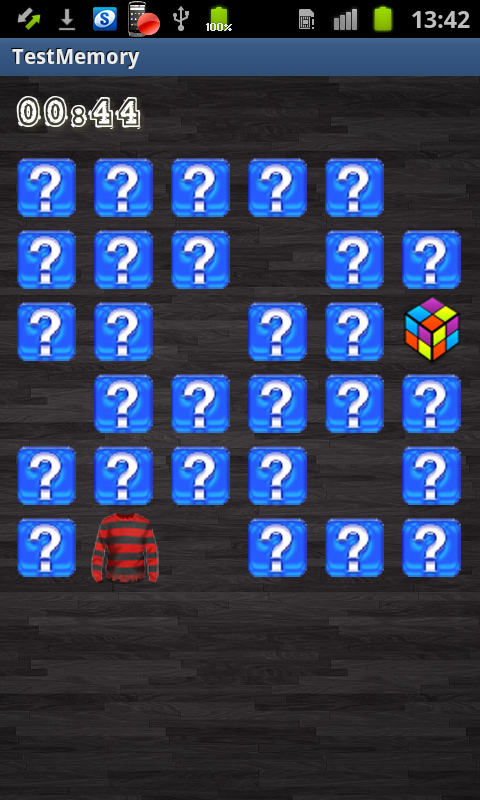 Test Memory Game - screenshot