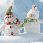 雪景色 ジグソーパズル icon