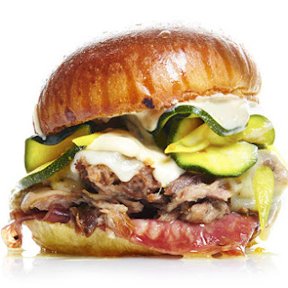 Cuban Sandwich with Zucchini Pickles