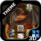 Next Launcher Dragon Theme icon