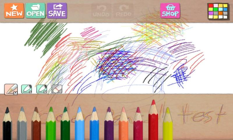 Hello Color Pencil- screenshot