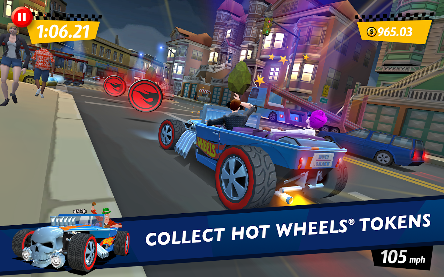 Crazy Taxi™ City Rush - screenshot
