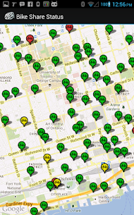 Bike Share Status - screenshot thumbnail