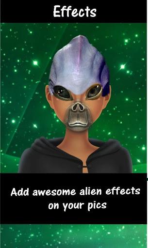 Alien face changer