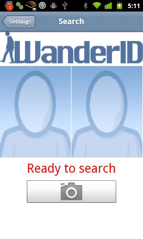 WanderID - screenshot