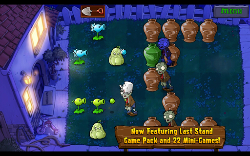 Plants vs. Zombies game for Android screenshot