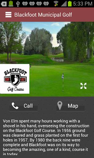 Blackfoot Municipal Golf