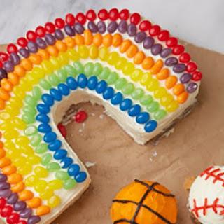 Basic Rainbow Cake