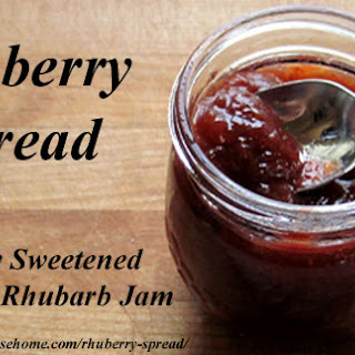 Rhuberry Spread  – Naturally Sweetened Strawberry-Rhubarb Jam