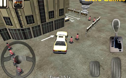 タクシードライバー3Dキャブ駐車